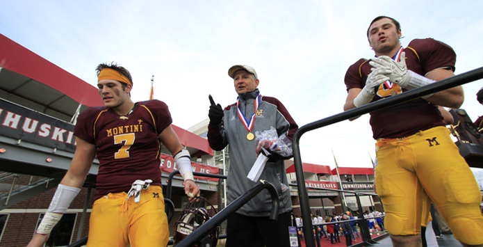 Montini Football Coach Chris Andriano Retires After Six IHSA State Titles