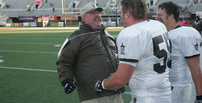 Six-Time State Champion Football Coach Dan Sharp Retires From Joliet Catholic Academy
