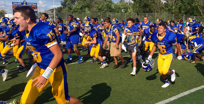 Joliet Central Ends Long Gridiron Losing Streak
