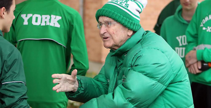 Iconic York Cross Country Coach Joe Newton Announces He Will Retire After 2016 Season