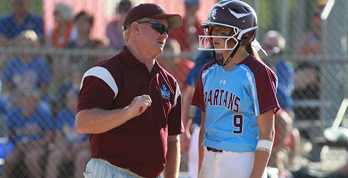 St. Joseph-Ogden Softball Coach Randy Wolken Collects Career Win 1,000