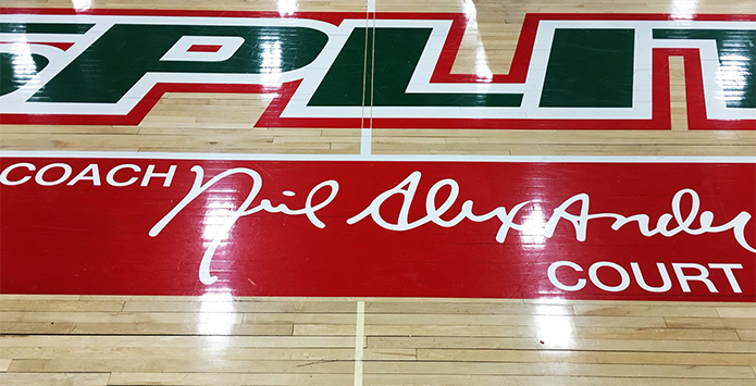 Lincoln High School Names Basketball Court in Honor of Legendary Coach Neil Alexander