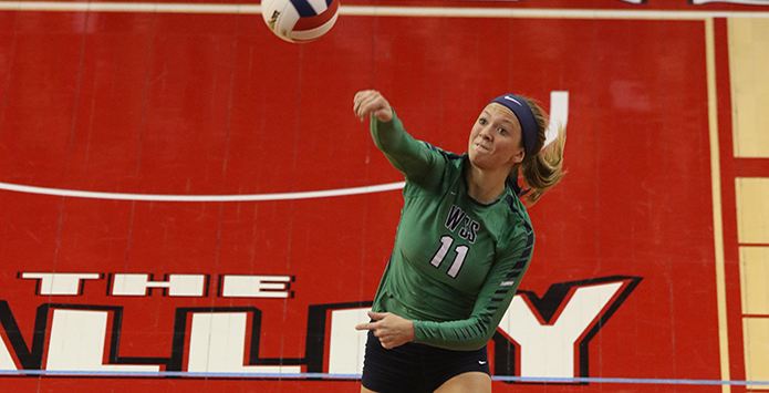 WSS's Megan Schlechte Sets New State Final Single-Match Kill Record