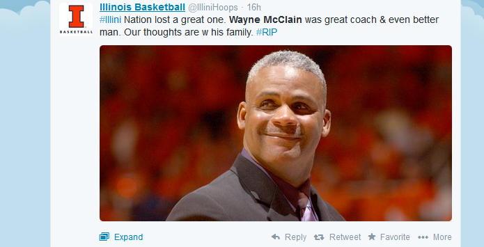 Basketball World Remembers Wayne McClain