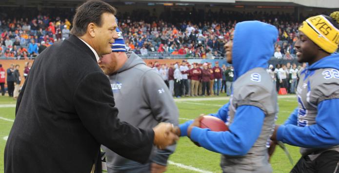Chicago Bears & Hall of Famer Dan Hampton Honor IHSA Football State Champions & Weekly Honorees