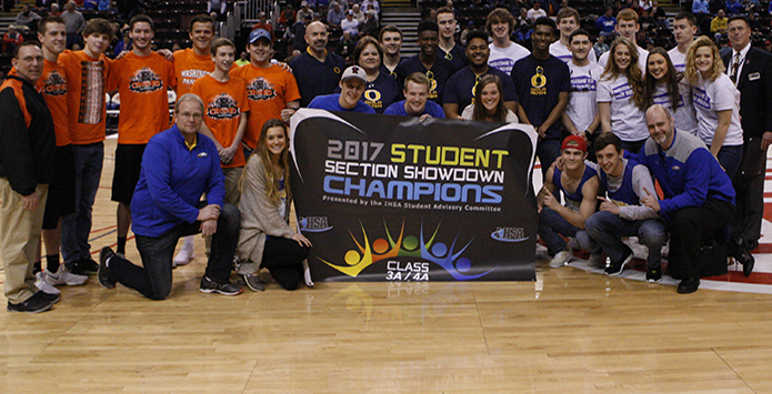 Sandburg Wins IHSA Class 3A/4A Student Section Showdow