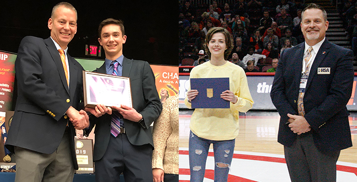 IHSA Nominees For National Awards Recognized at State Finals