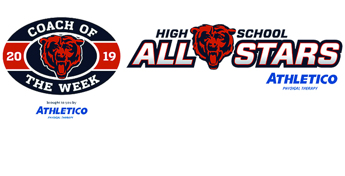 2019 Chicago Bears Weekly High School All-Star Player & Coach of the Week