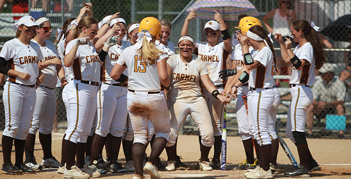2017 Illinois Coaches Association/MaxPreps Softball Rankings
