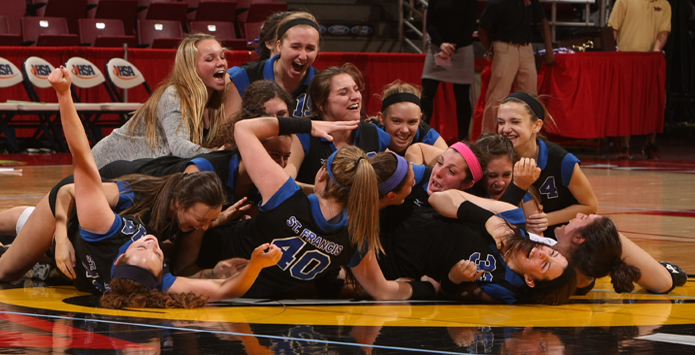 St. Francis Coach Peg Kopec Provides Perspective On Reaching State
