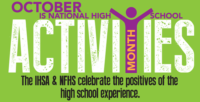 October is NFHS National High School Activities Month!