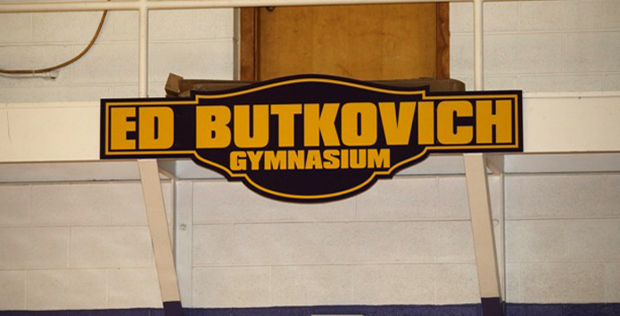 Mount Pulaski Names Gym After Legendary Coach Ed Butkovich