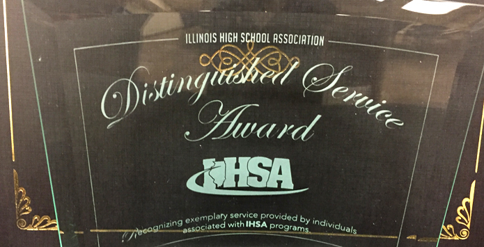 IHSA Honors 10th Distinguished Service Award Class