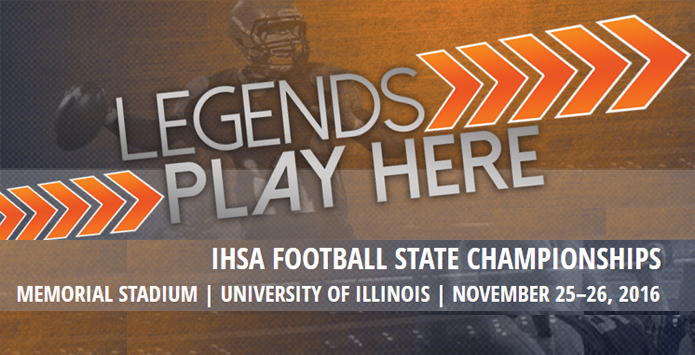 LegendsPlayHere.com: Tent City & IHSA State Football Information From Visit Champaign County
