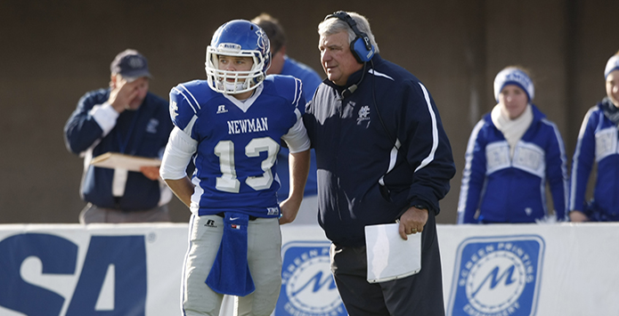 Legendary Newman Central Catholic Football Coach Mike Papoccia Announces Retirement